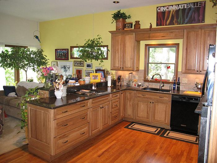 Kitchen remodel in anderson township near cincinnati for Kitchen and bath remodeling cincinnati